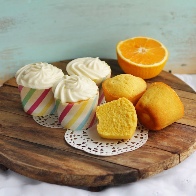 Кукурузно-апельсиновые кексы