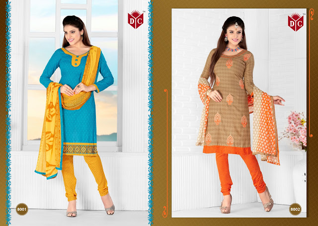 Chocolate Vol – 3 – Heavy Cotton Printed  With  Delicate Embroidery