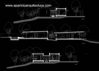 Arquitectura de casas casa moderna estilo minimalista en for Pie de plano arquitectonico pdf