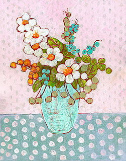 Flores de Tonos Pasteles Cuadros Modernos