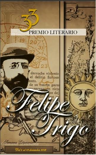 33 Premio Literario Felipe Trigo.
