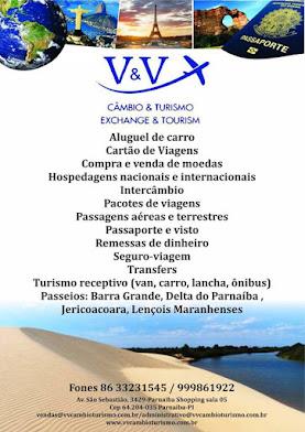 Em Parnaíba - V&V. Câmbio&Turismo