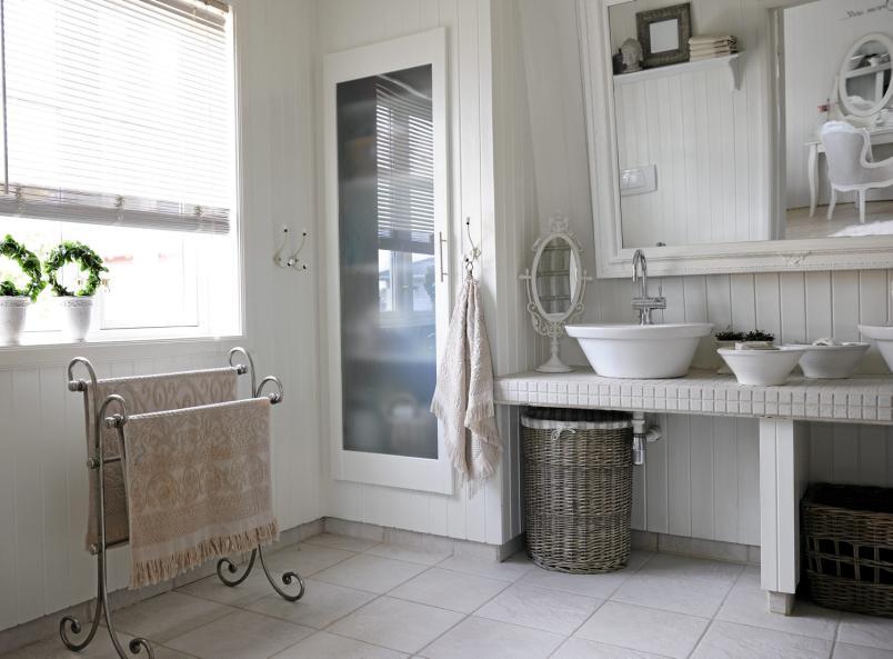 Millivilla inspirasjon baderom - Salle de bain campagne ...