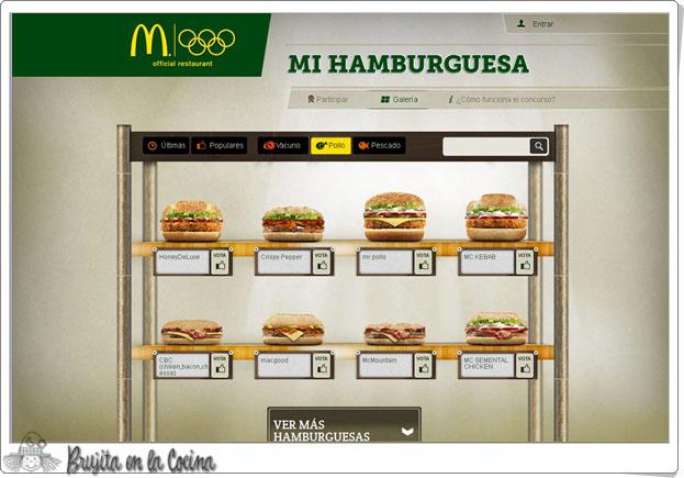 Brujita en la cocina mcbruji crea tu hamburguesa con for Crea tu cocina