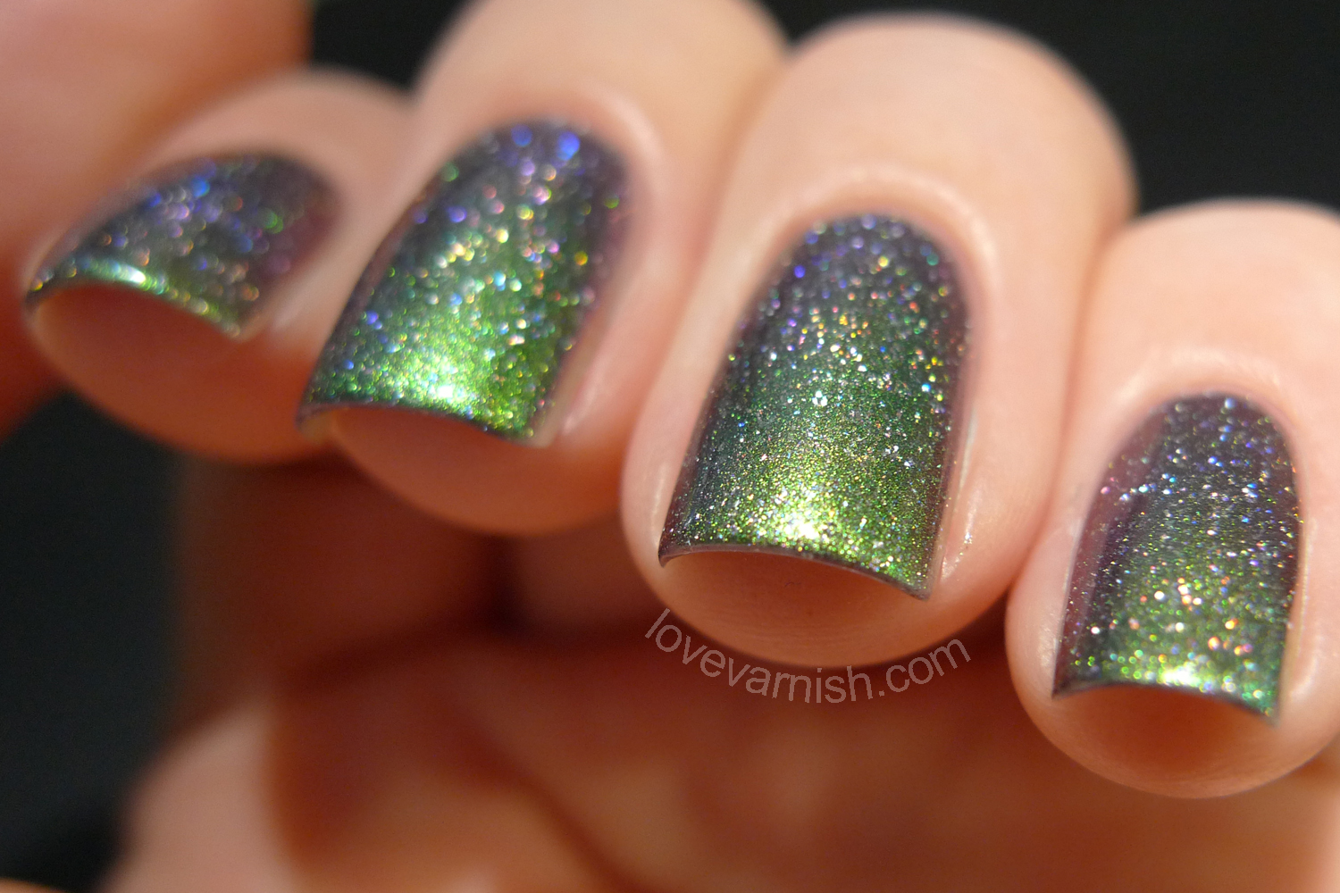 Dance Legend Galaxy Solar Eclipse swatches and review