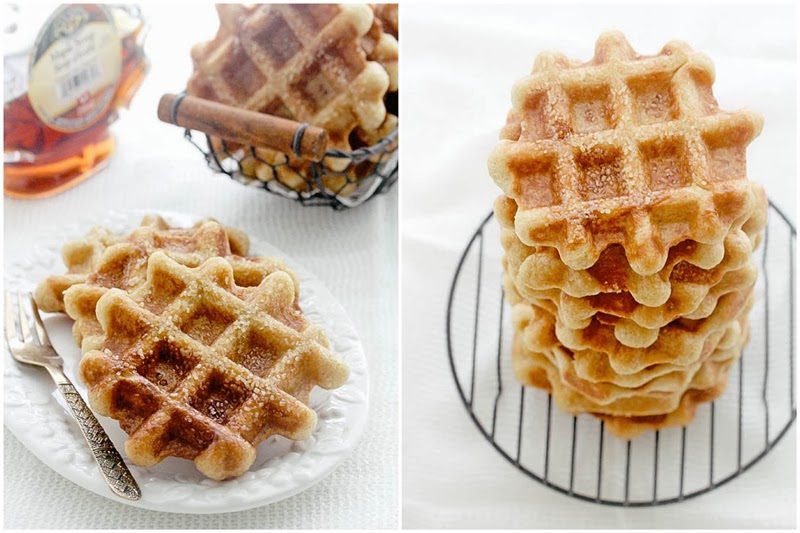 Foodagraphy. By Chelle.: Liege Waffles