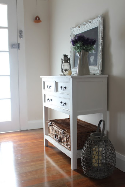 coastal hall cabinet white painted lilyfield life
