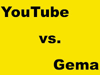 YouTube gegen Gema im Urheberrechtsstreit www.michaela-bodensee.de