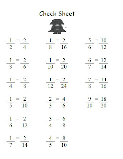 Fern Smith's FREE Go Darth! Equivalent Fractions Game