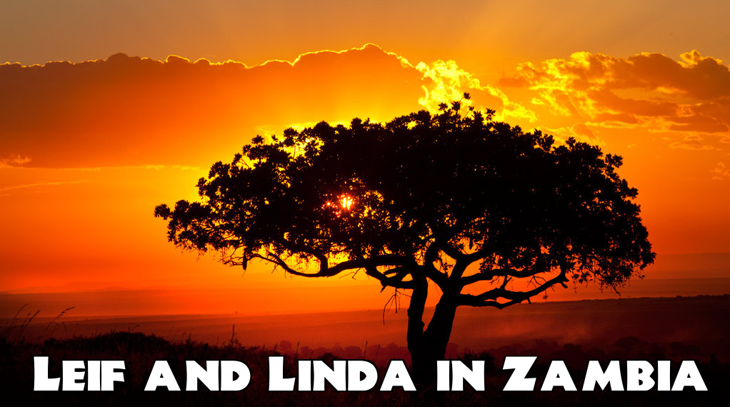 Leif and Linda in Zambia
