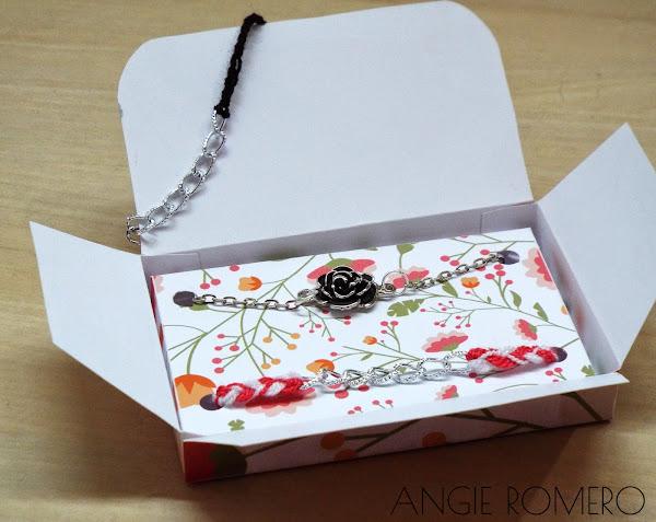 Pulseras con caja decorada diy ideas para regalar a chicas - Regalos faciles y rapidos ...