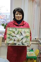 Работа участницы мастер - класса Наталии Нечаевой