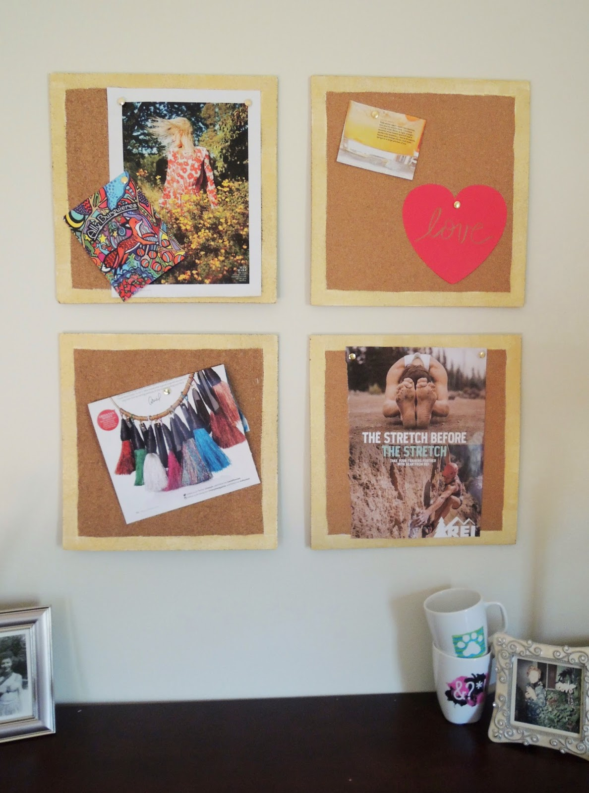 DIY Cork Inspiration Board