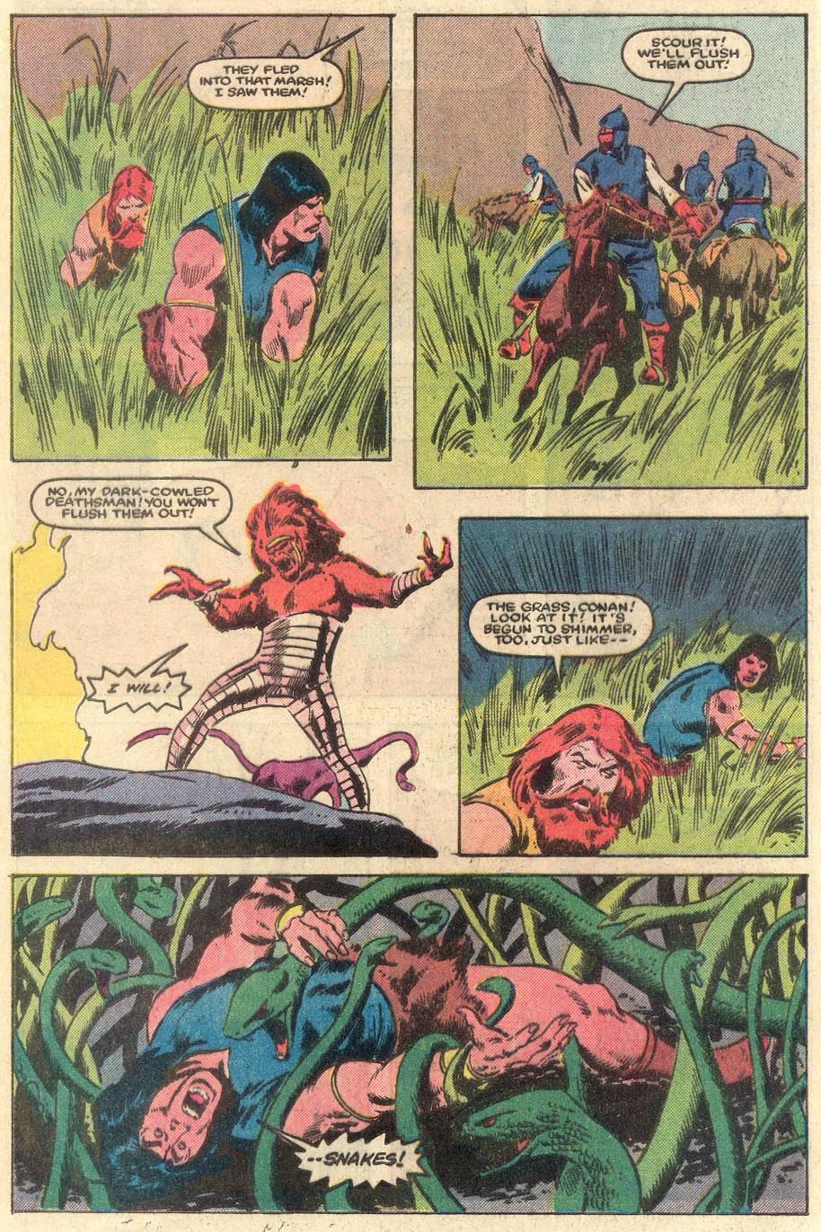 Conan the Barbarian (1970) Issue #162 #174 - English 13