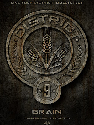 The Hunger Games District 9 Grain Poster