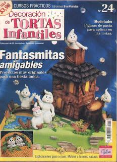 Revista : Decoración de Tortas Infantiles n.24