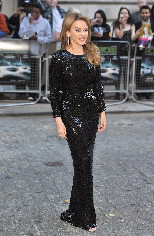 Kylie Minogue at  Holy Motors movie premiere in London