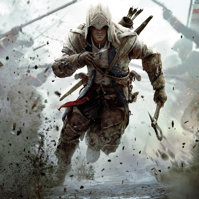 iPad Wallpaper - Assassins Creed 3 Connor Free Running