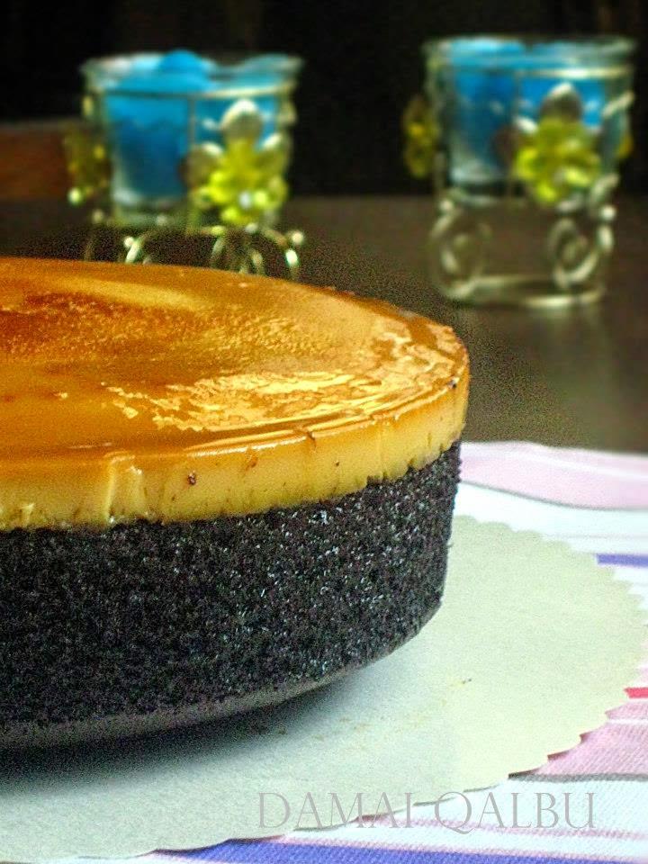 Resipi Kek Karamel Coklat Moist Ver Kukus Dan Bakar