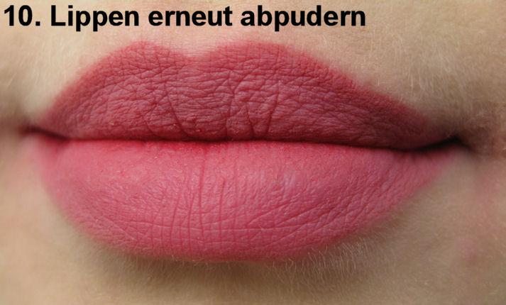 tutorial haltbarkeit lippenstift nach lancomes ronald bauer innen und aussen. Black Bedroom Furniture Sets. Home Design Ideas