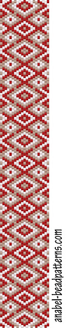 peyote pattern схемы бисероплетение браслеты мозаика