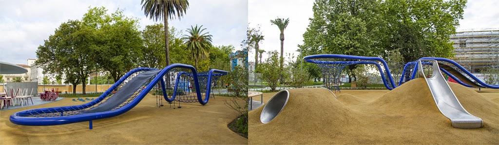Zona de juegos en los Jardines de Pereda / Pereda Garden ...