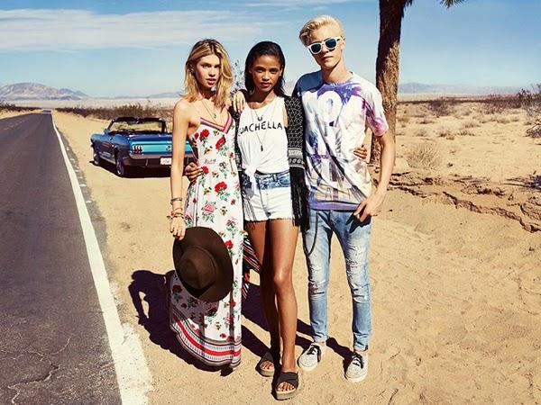 H&M Loves Coachella colección festival moda joven