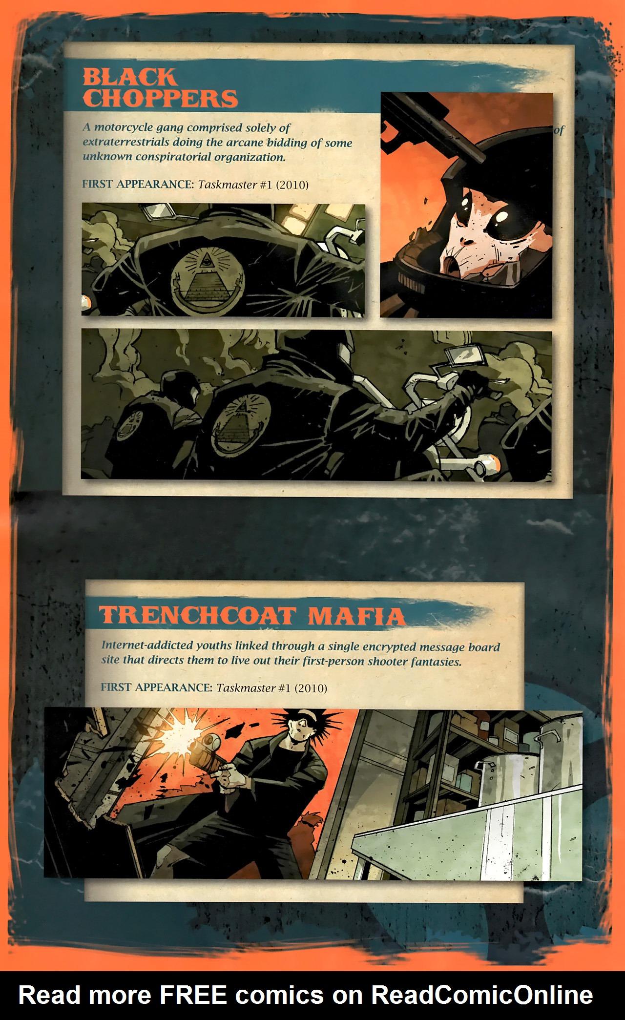 Read online Taskmaster (2010) comic -  Issue #1 - 28