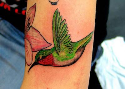 Fotos de Desenhos de Tatuagem de Beija-Flor
