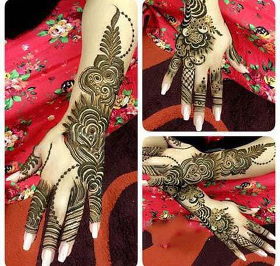 Mehndi Unique Designs 2015 : Style latest unique arabic mehndi designs for hands