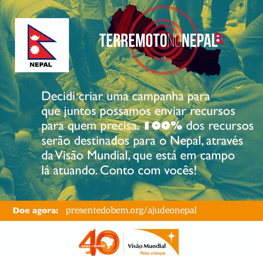 Ajude o Nepal