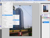 membuat efek 'fish eye' menggunakan software adobe photoshop