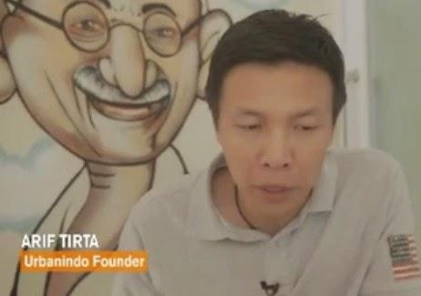arif tirta Urbanindo Founder Indonesia