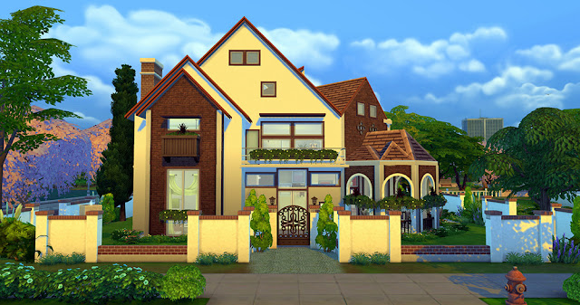 Sims 4 Dream Country House