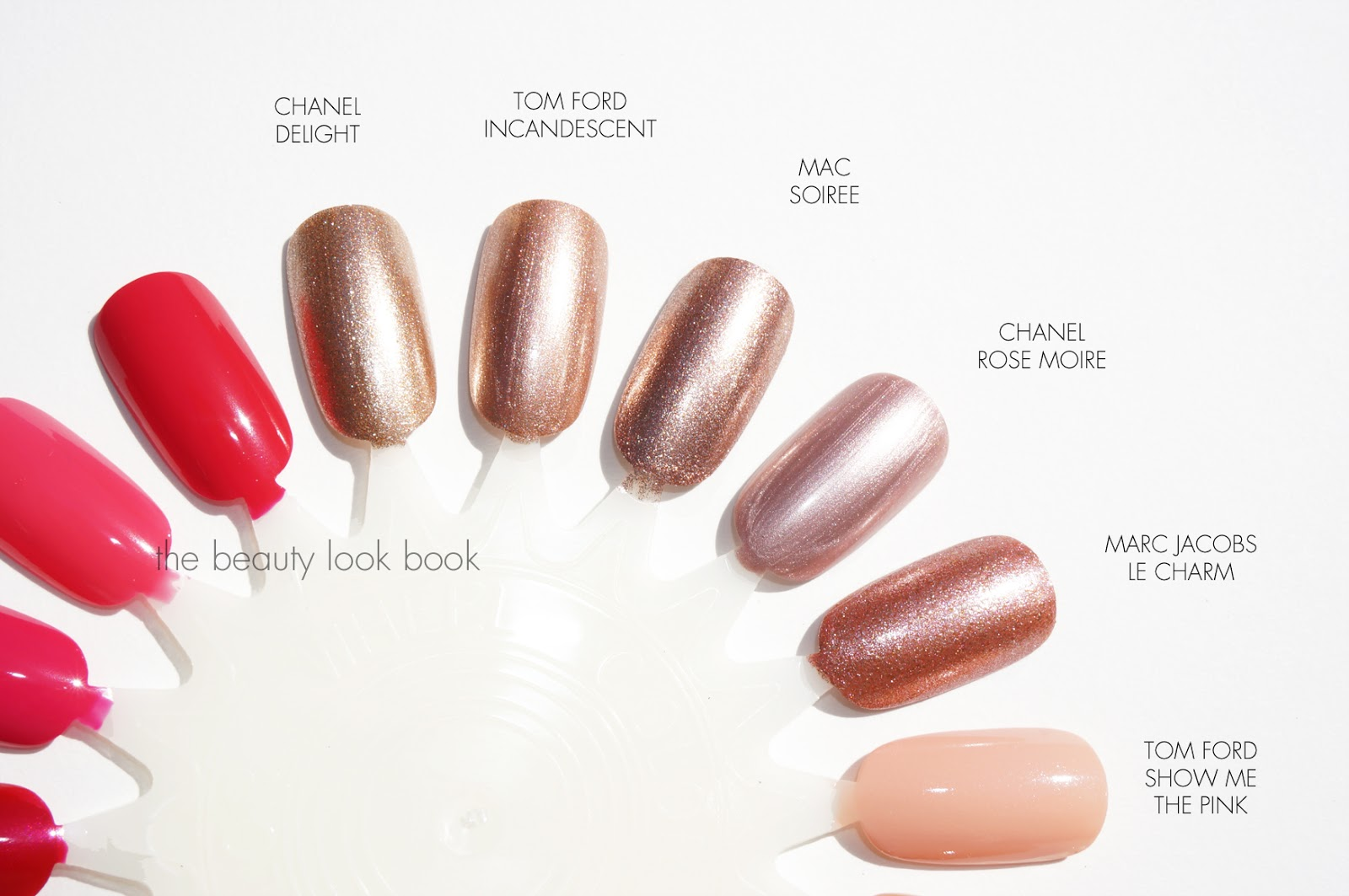Tom Ford Spring Nail Polish Comparisons to Chanel, MAC, Marc Jacobs ...