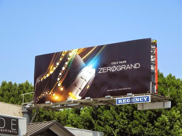 Cole Haan Zero Grand footwear billboard