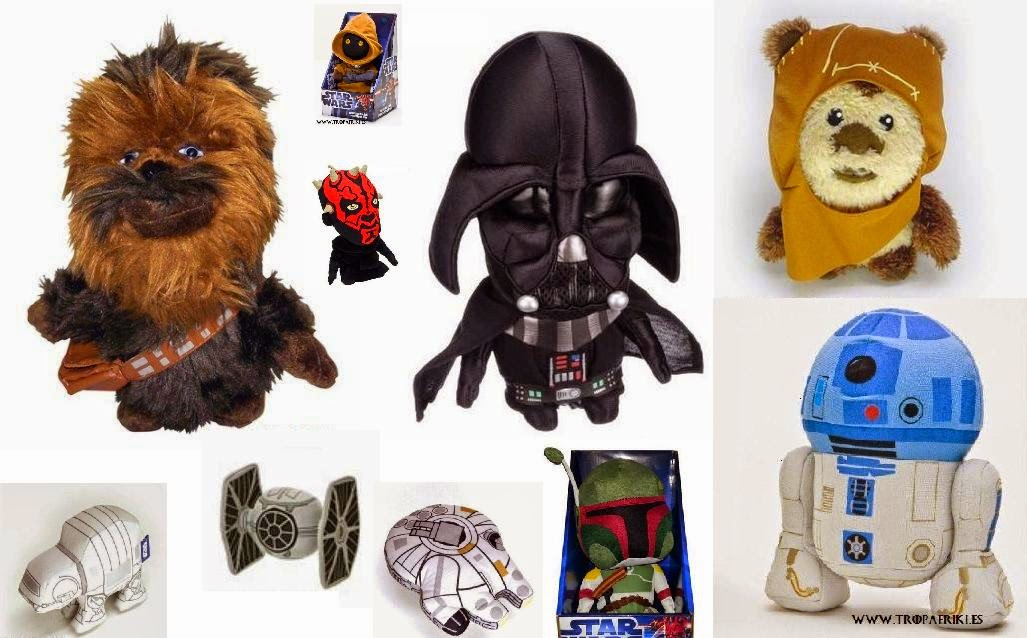 peluches de star wars para regalar la tropa friki. Black Bedroom Furniture Sets. Home Design Ideas