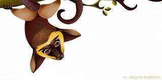 Mono - Maria Albarran Ilustracion