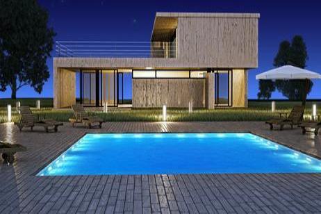 Sweethome como iluminar tu jard n for Iluminacion led piscinas