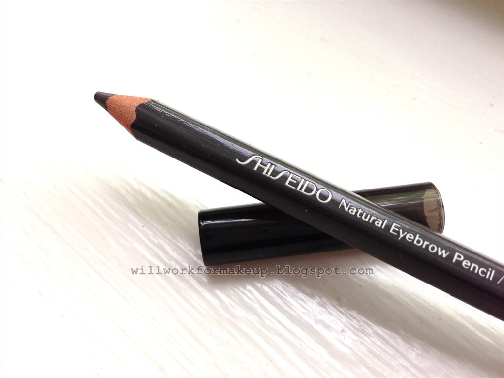 Natural Eyebrow Pencil Shiseido Review