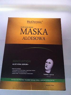 BioDermic - Maska Aloesowa- recenzja