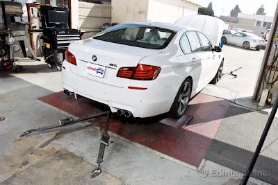 2013 BMW M5 Dyno