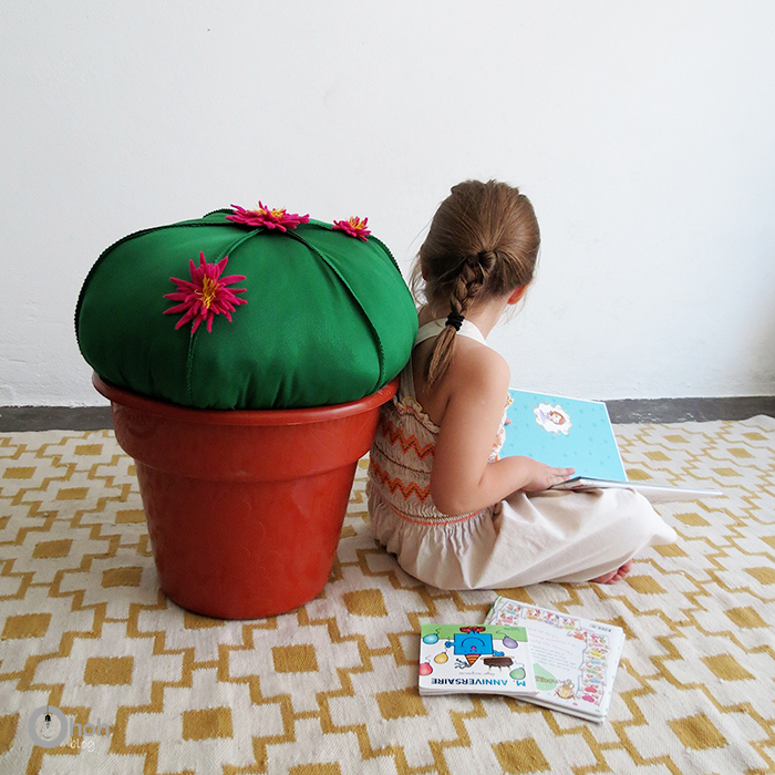 DIY Cactus Stool - Ohoh Blog