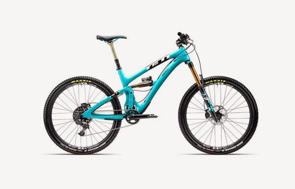 2015 Yeti SB6C Carbon Turquoise