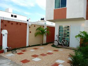 jardin concepto minimalista Playa del carmen foto2 fachada