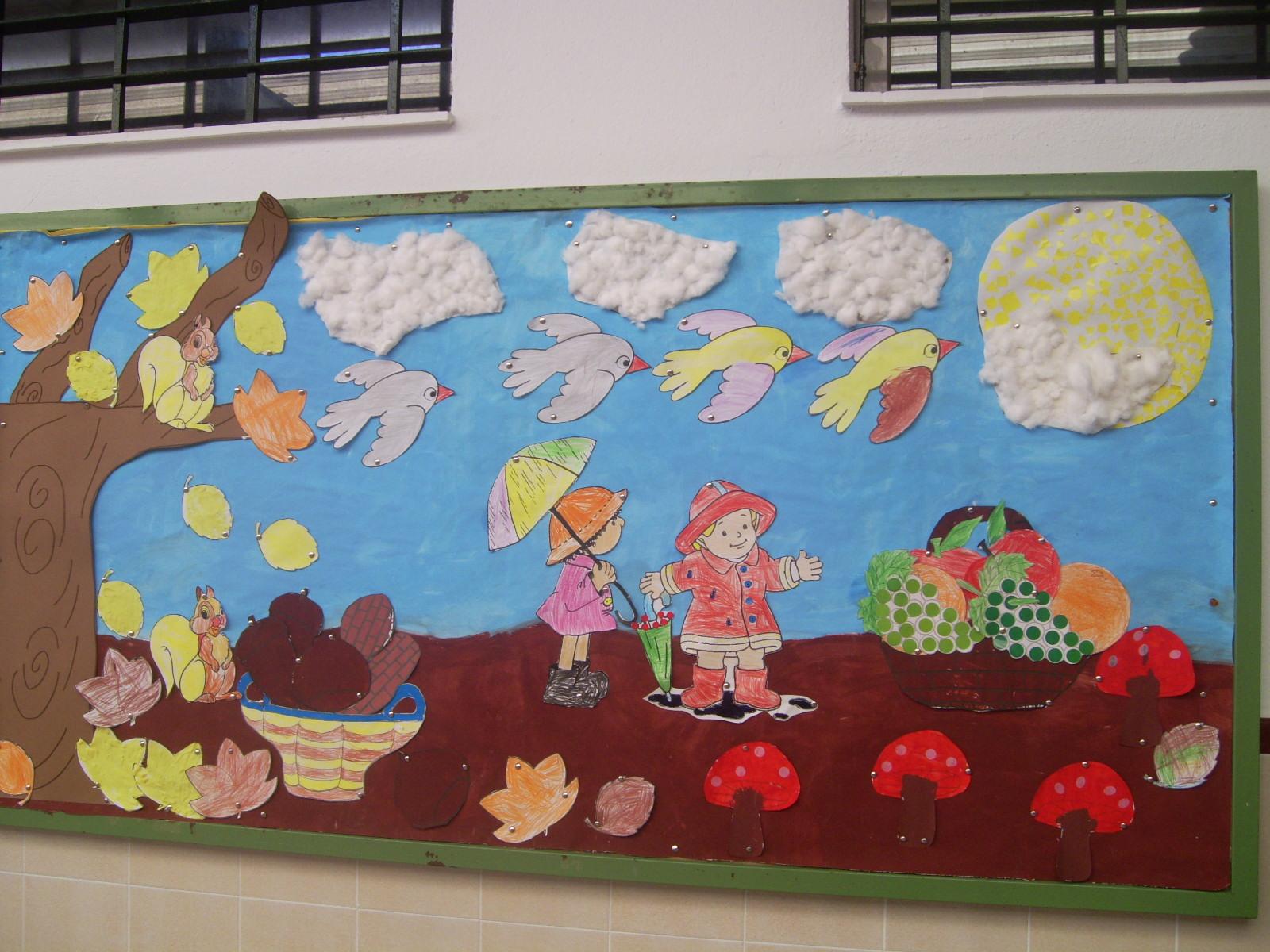 Educaci n infantil c e i p federico garcia lorca creamos for Decoracion otono infantil