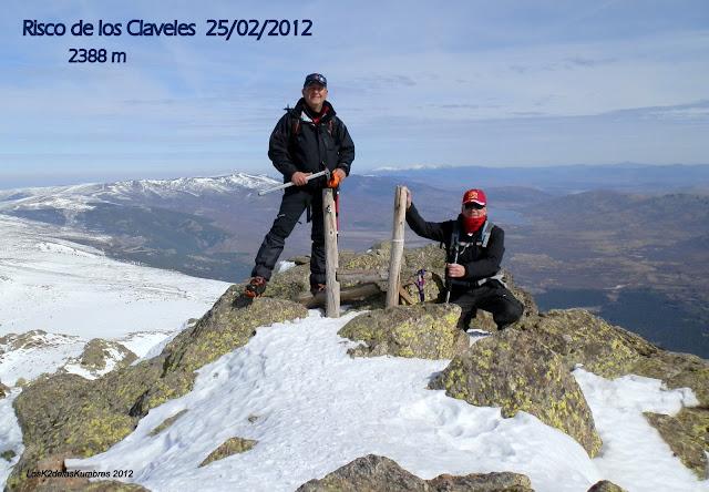 Risco de los Claveles, Peñalara cumbre