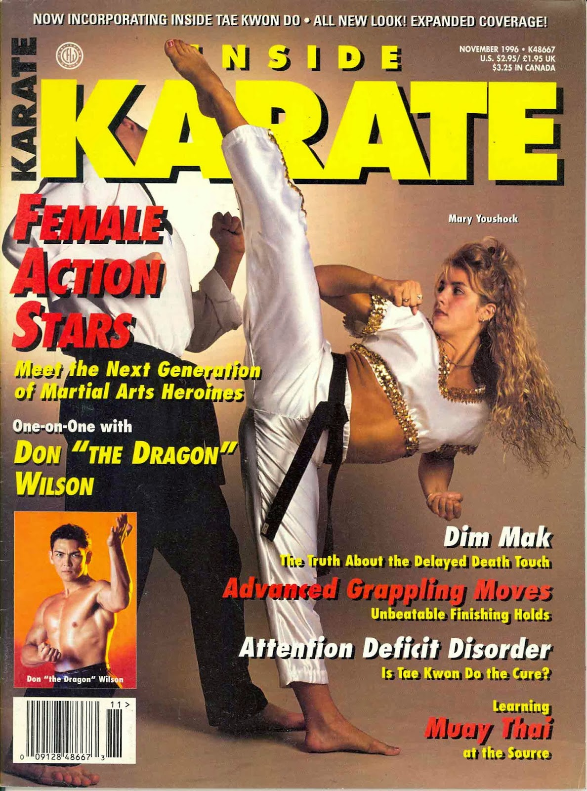 Exceptionnel ARE YOU BAD ENOUGH?: Top 10 Covers of Inside Karate Magazine: #6  UU67