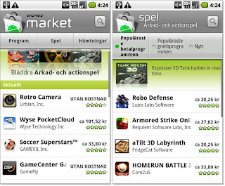 Update Aplikasi Android via Android Market
