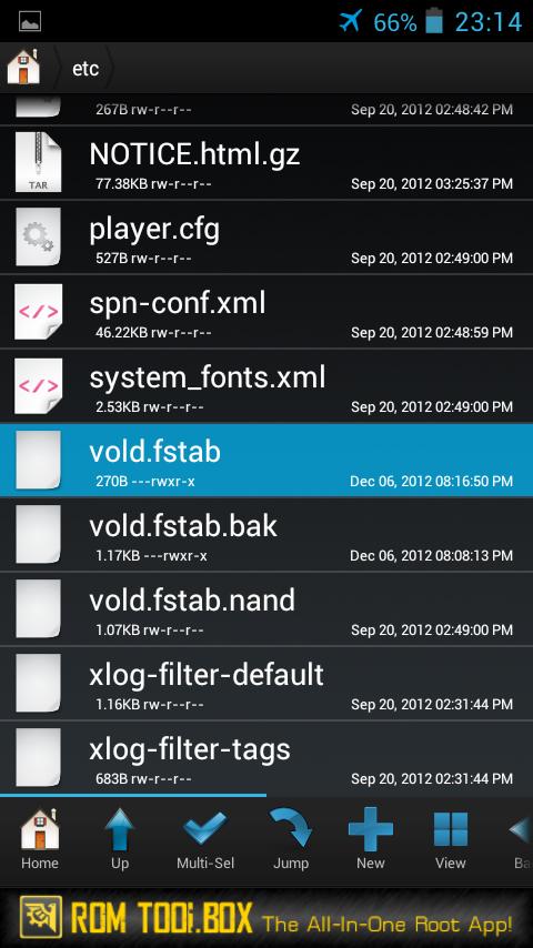 Скачать файл vold fstab для андроид